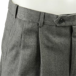 Palm Beach Reflex Men S Grey Flannel Wool Pants Free