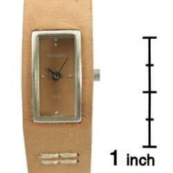 Thumbnail 3, Apropos By Jules Jurgensen Women's Tan Dial Watch. Changes active main hero.
