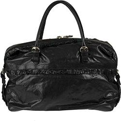 Gucci 'Sabrina' Black Leather Boston Bag - Thumbnail 2
