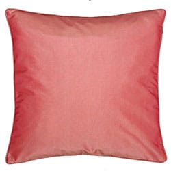Chinese Fortune Symbol Pink/ Beige Cushion Cover