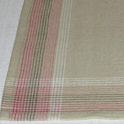 Pair of Hand-woven Cotton Table Runners (India) - Thumbnail 2