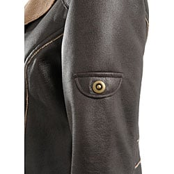 Montanaco Women's Faux Leather Jacket