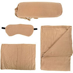 Airline Travel Kit with blanket and eye mask - Thumbnail 2