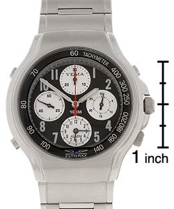 0487e5f91 Shop Yema by Seiko of France Stainless Steel Watch - Free Shipping ...