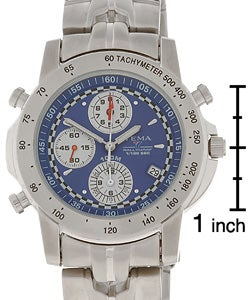 3388573fd Shop Yema by Seiko of France Men's Rallygraf Chronograph Watch - Free  Shipping Today - Overstock - 1612573