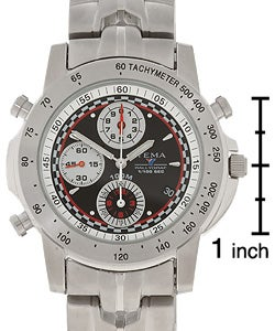 3ef6a995e Shop Yema by Seiko of France Men's Rallygraf Chronograph Watch - Free  Shipping Today - Overstock - 1612574