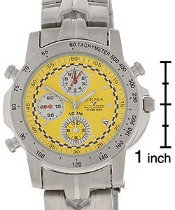 Yema by Seiko of France Men's Stainless Steel Chronograph Watch - Thumbnail 2