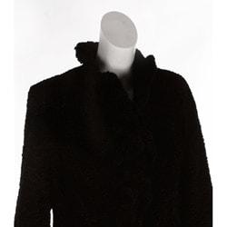 Pamela McCoy Women's Faux Fur Ruffle Stroller