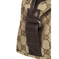 Gucci GG Plus Beige Men's Jacquard Logo Dop Kit