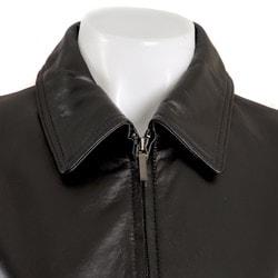 Colebrook Women's Leather Jacket - Thumbnail 2