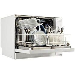 Koldfront White Portable Countertop Dishwasher