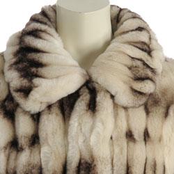 Damselle Women's Faux Fur Jacket
