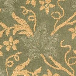 Safavieh Handmade Oasis Blue Wool Rug (8'9 x 11'9) - Thumbnail 2