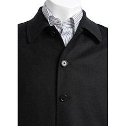 Austin Reed Men S Black Cashmere Blend Jacket Overstock 3646728