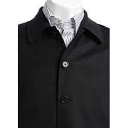Austin Reed Men S Black Cashmere Blend Jacket Overstock 3646728