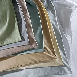 Cotton Sateen 1000 Thread Count 3-piece Duvet Cover Set - Thumbnail 2