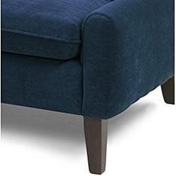 Eco-Friendly Montego Navy Pennyback Sofa