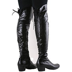 Beston Women's Low-heel Motorcycle Boots - Thumbnail 2