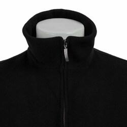 Claiborne Men's Italian Wool-blend Black Coat - Thumbnail 2