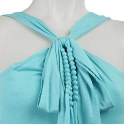 FINAL SALE Princess Women's Bow-front Halter Top