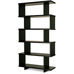 Staggered Shelf Bookcase Free Shipping Today Overstock