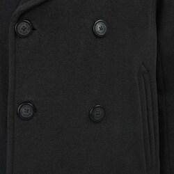 Marc New York Men's 'Murphy' Italian Wool Blend Black Peacoat - Thumbnail 2