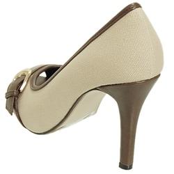 Adi Designs Women's 'Casey' Peep Toe Pumps - Thumbnail 2