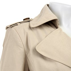 Calvin Klein Women's Double-breasted Trench Coat