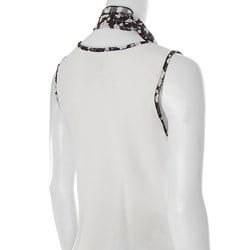 Adi Designs Women's 3-piece Sleeveless Skirt Set - Thumbnail 2