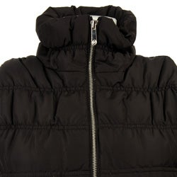 Thumbnail 3, MICHAEL Michael Kors Women's Ruched Slim-fit Down Vest. Changes active main hero.