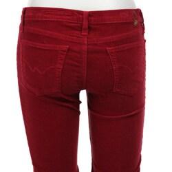 Adriano Goldschmied Women's 5-pocket Bootcut Corduroy Pants - Free ...
