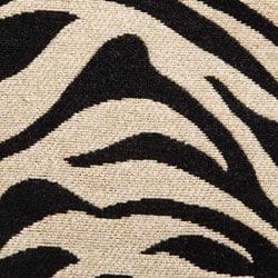Zebra Stripe 30-inch Barstool