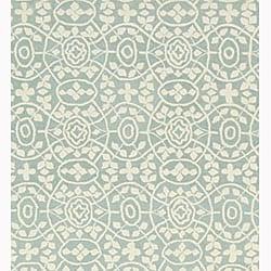 Martha Stewart by Safavieh Bloomery Aloe Cotton Rug (3'9 x 5'9) - Thumbnail 2