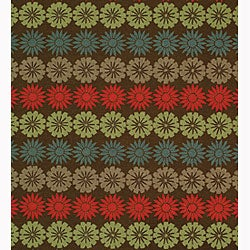 Martha Stewart by Safavieh Solar Garden Mulberry Wool Rug (5'6 x 8'6) - Thumbnail 2