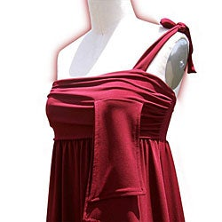 Evanese Women's Asymmetrical Dress - Thumbnail 2