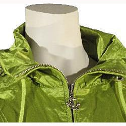 Betsey Johnson Women's Acid Green Anorak - Thumbnail 2