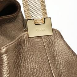Furla Elisabeth Tracolla Metallic Handbag - Thumbnail 2