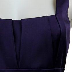 Calvin Klein Women's Stretch Satin Sheath Dress - Thumbnail 2