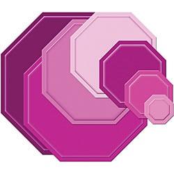 Thumbnail 3, Spellbinders Nestabilities 'Large Octagons' Die Set. Changes active main hero.