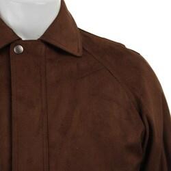 Claiborne Men's Microsuede Jacket - Thumbnail 2