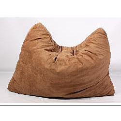 FufSack Brown Microfiber Futon Pillow Lounge Chair Free Shipping