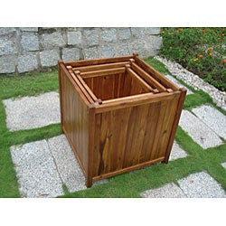 Square 20-inch Flower Box - Thumbnail 2
