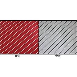 Brioni Thin Stripe Silk Necktie - Thumbnail 2