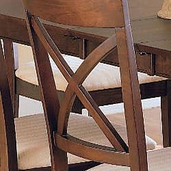 Merlot 7-piece Dining Table/ Chair Set - Thumbnail 2