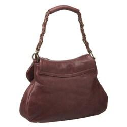 Presa 'Jubilee' Small Leather Tassle Shoulder Bag