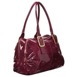Presa 'Mayfair' Patent Leather Shoulder Bag