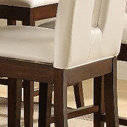 Lancaster Open Back White 24-inch Counter Stool (Set of 2) - Thumbnail 2