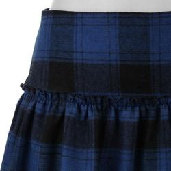 Necessary Objects Junior's Plaid Skirt