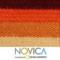Wool 'Kingdom of the Sun' Cushion Cover (Peru)