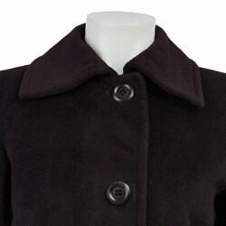 Jones New York Women's Wool Blend Coat